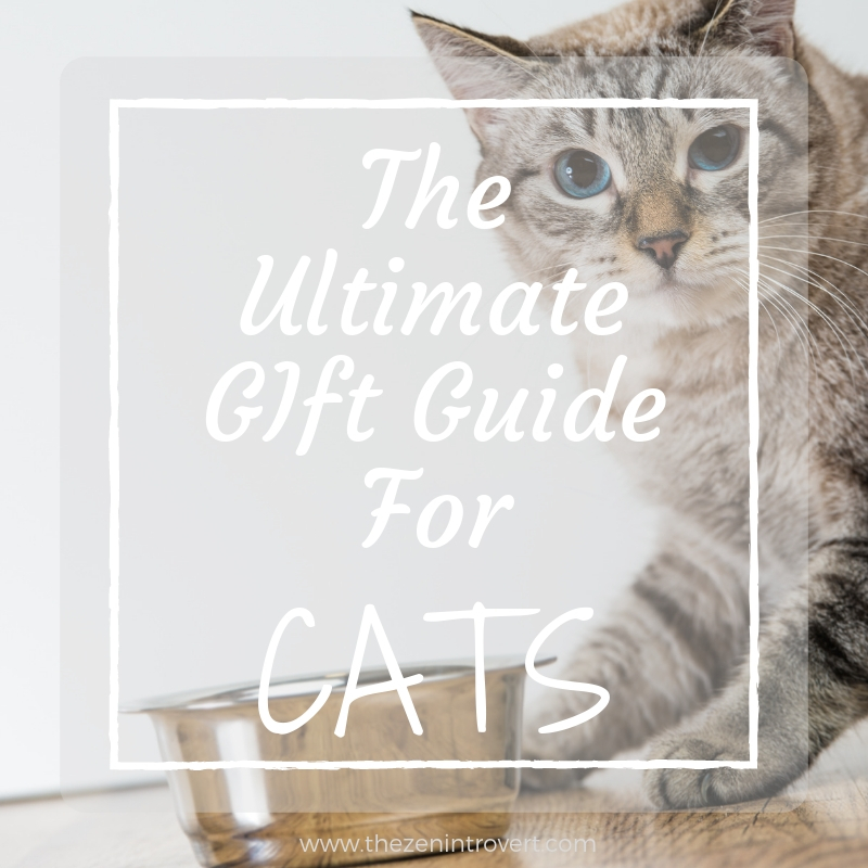 The Ultimate Gift Guide for your pampered feline. From the unusual to the practical to the tried and true.