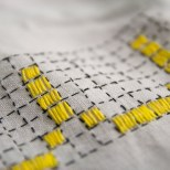 Saturday Internet Crushes: Stitching with Color | The Zen of Making
