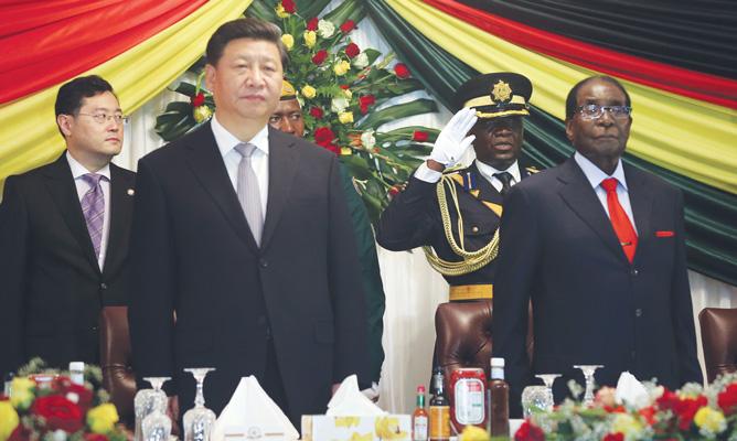 China – Mugabe