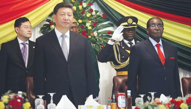 Image result for mnangagwa, china