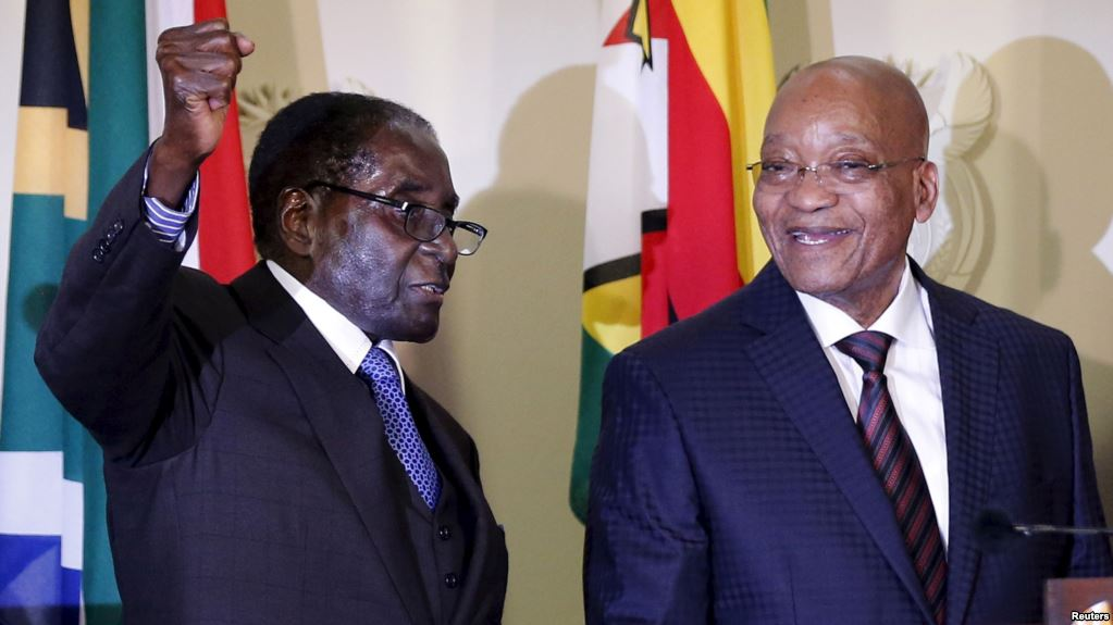 Mugabe flies to South Africa to aid wife accused of assault