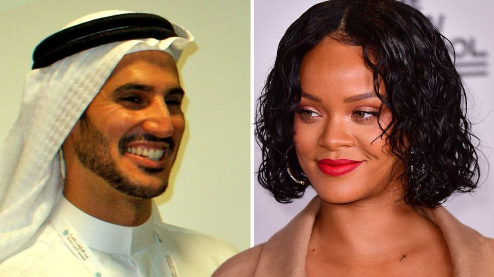 11d9ecee127 Is Rihanna engaged  Singer s latest Instagram post sends fans into a ...