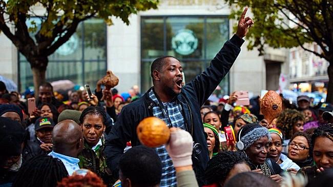 Diaspora protest