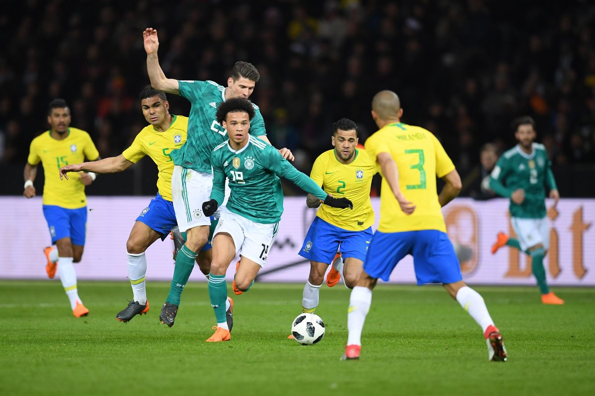 Brazil hit back at Germany with friendly win
