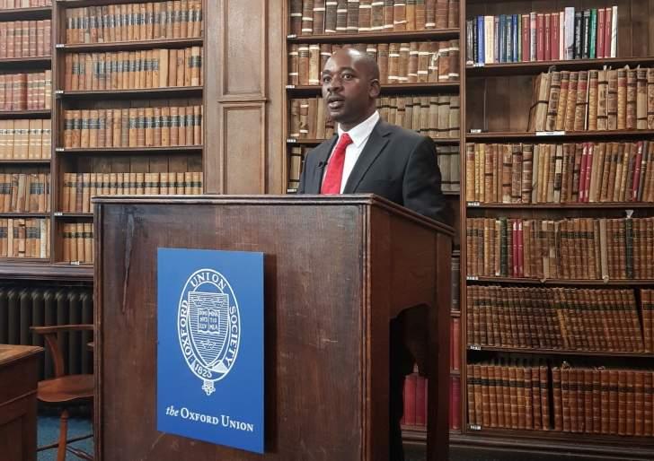 Zimbabwe needs democracy not managed stability, Chamisa tells Brits