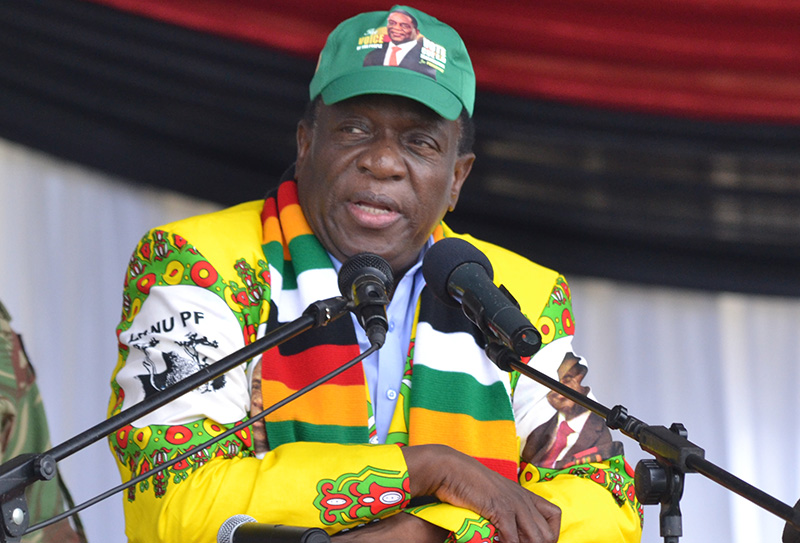 There won't be discrimination under my govt, Mnangagwa tells white voters