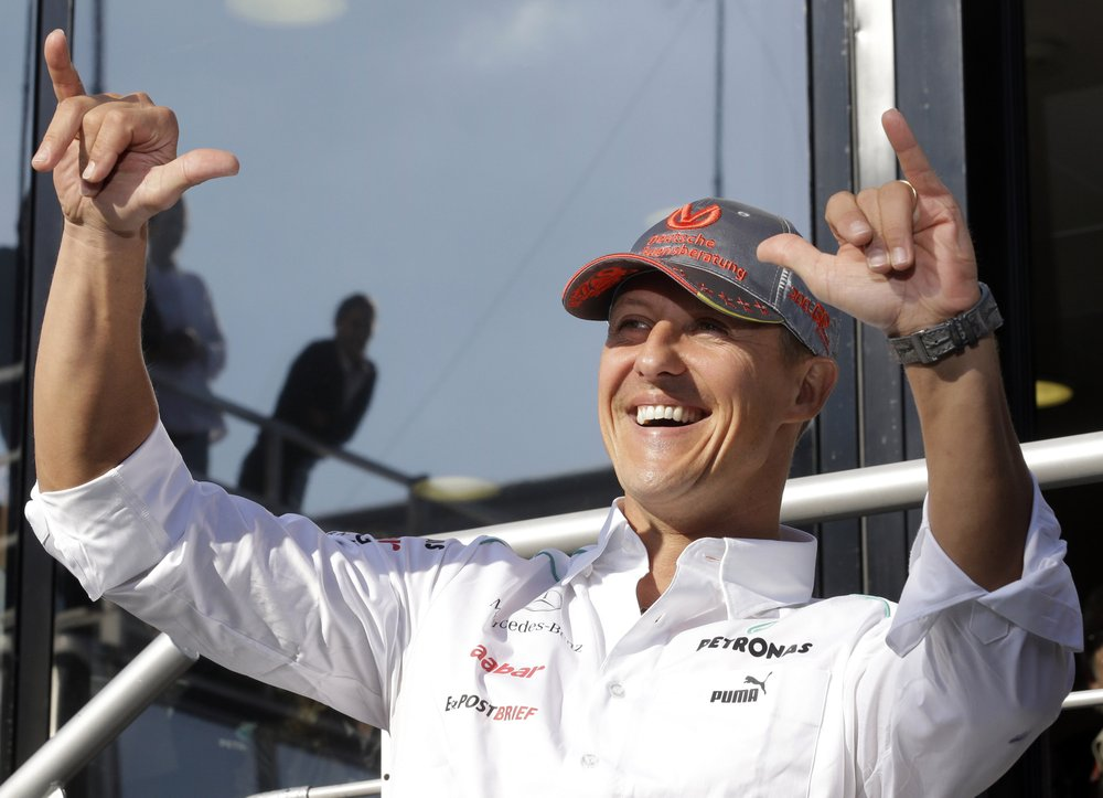 Michael Schumacher admitted to hospital for secret treatment
