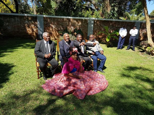 PICTURES Sir Wicknell Marries
