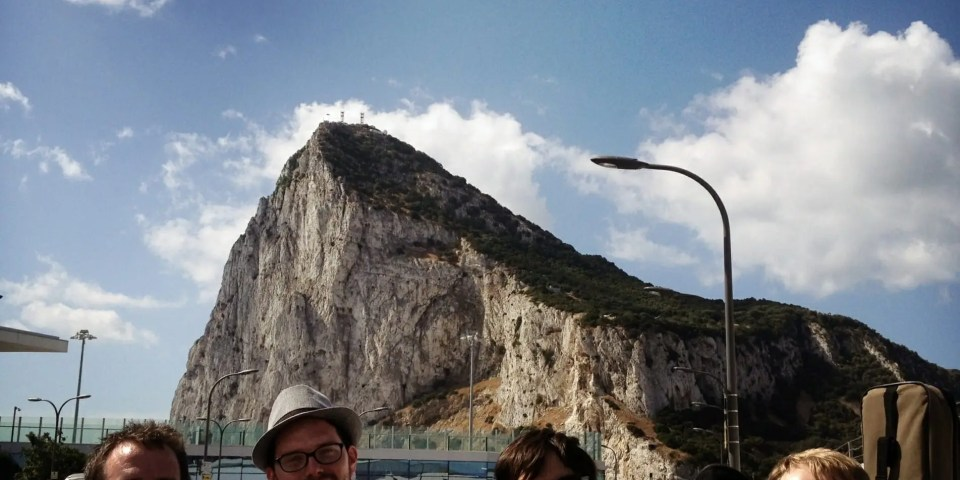 The Zoots go to Gibraltar