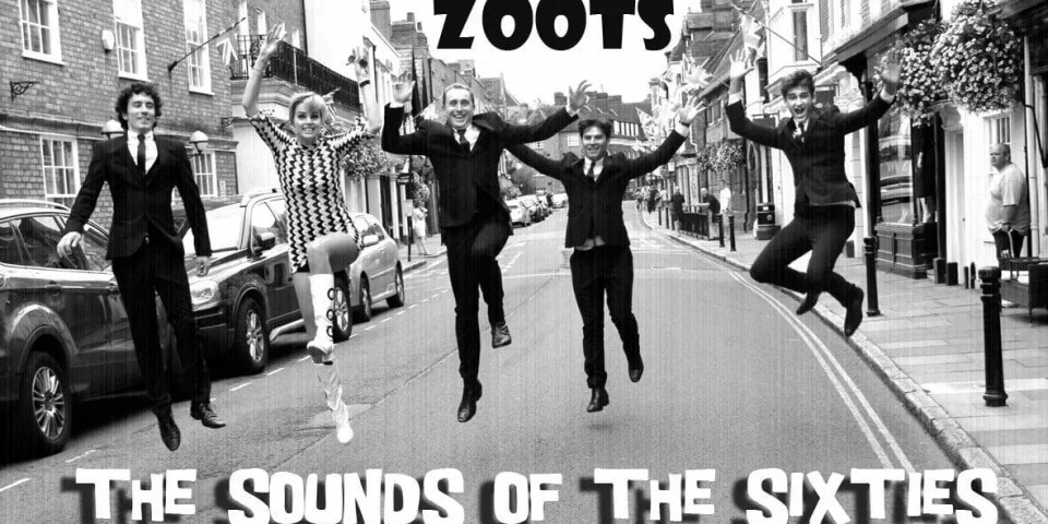 the zoots sounds of the sixties, 60s tribute show, 60s band