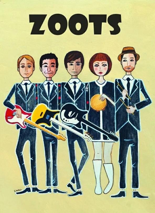 The Zoots wedding band