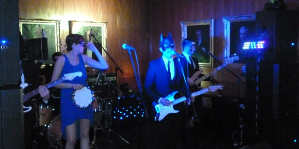 The Zoots party band performing at The Royal Thames Yacht club Ball in London