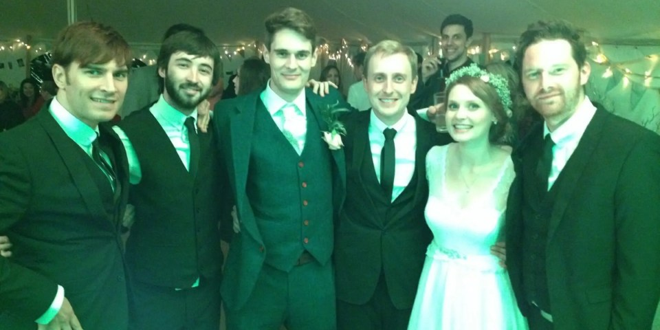 Dan and Tamzin's wedding at Urcfont in Wiltshire