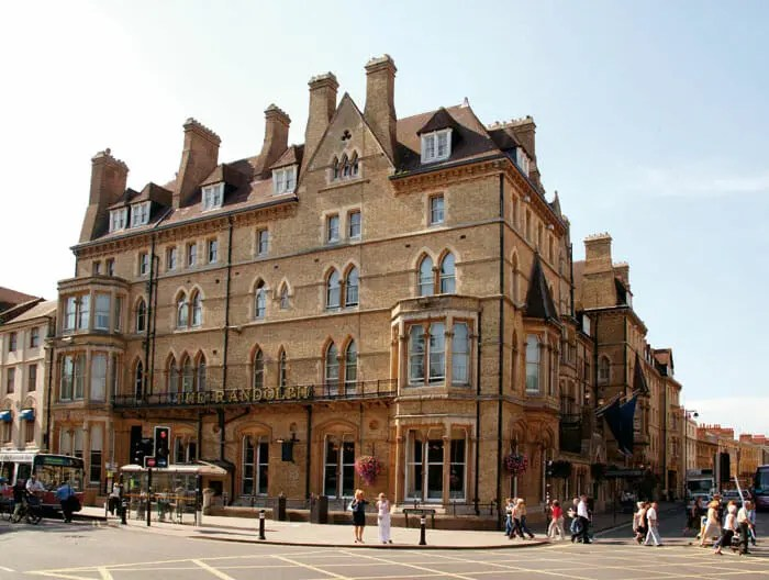 Randolf Hotel Oxford, Macdonald Randolf Hotel, 5 star hotel in Oxford, five star hotel, Oxford Hotel, Luxury Hotel, Band in Randolf Hotel, Band at Randolf Hotel, Randolf Hotel Exterior,