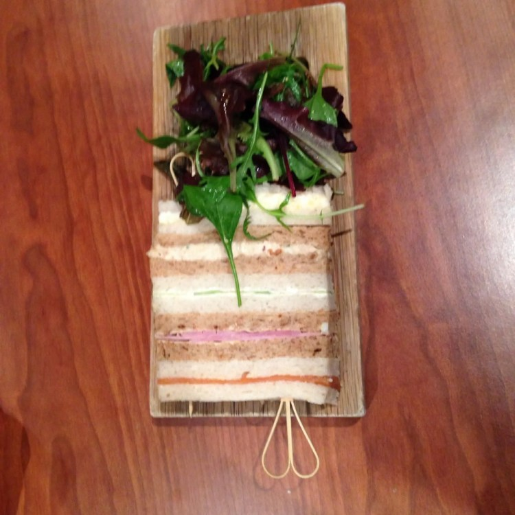 Food at Vineyard Hotel Newbury, Sandwiches,