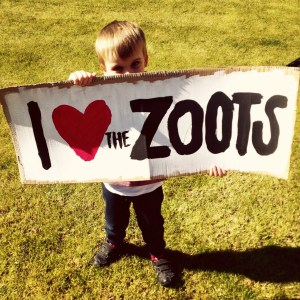 The Zoots banner, we lovethe zoots banner
