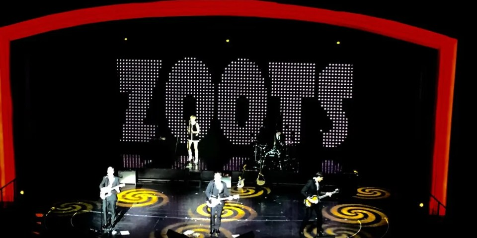 The Zoots 1960s show