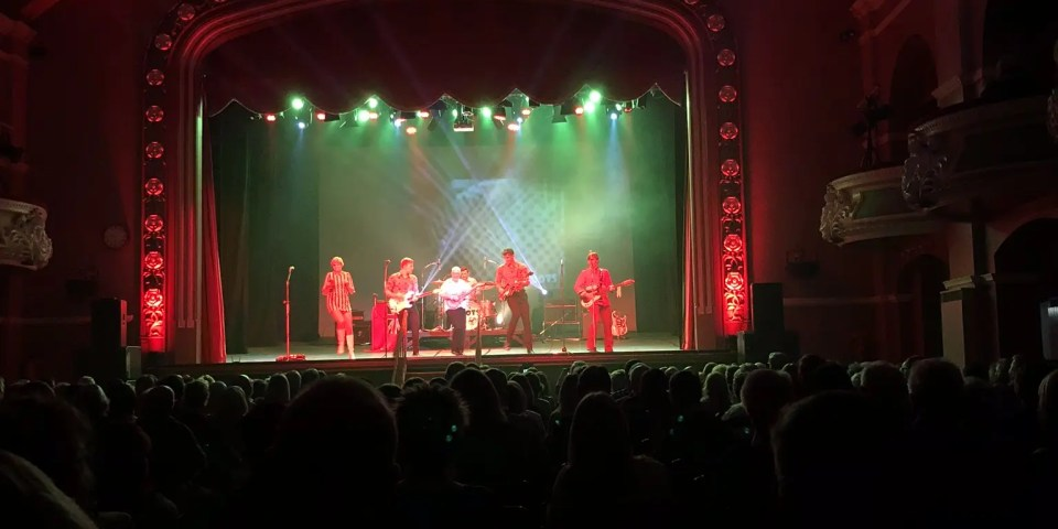 60s show, 60s tribute, ilkley hall, the zoots