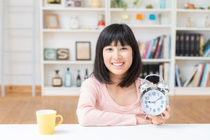 Asian,Girl,To,See,A,Clock