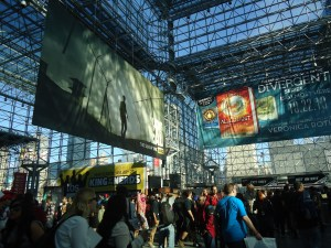 Saturday at New York Comic Con. Photo by Jennifer Walsh.