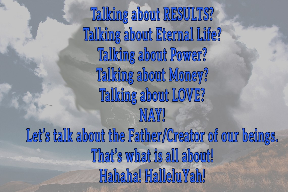 Results talking about the Creator