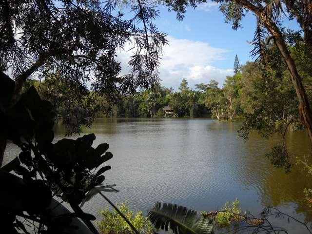 Le lac du parc Ivoloina