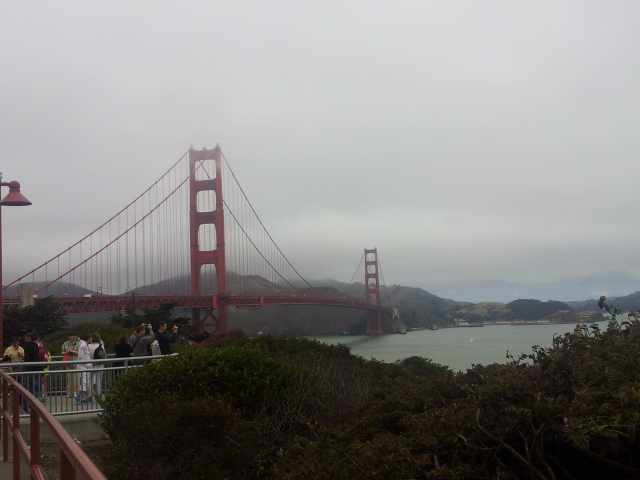 pont Golden Gate à San Francisco aux Etats-Unis