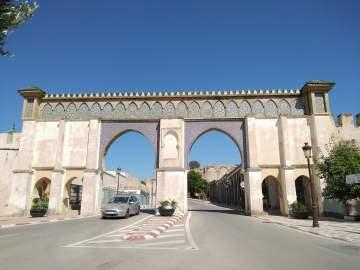 la porte Bab Moulay Ismaïl