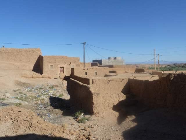 maisons traditionnelles marocaines en terre