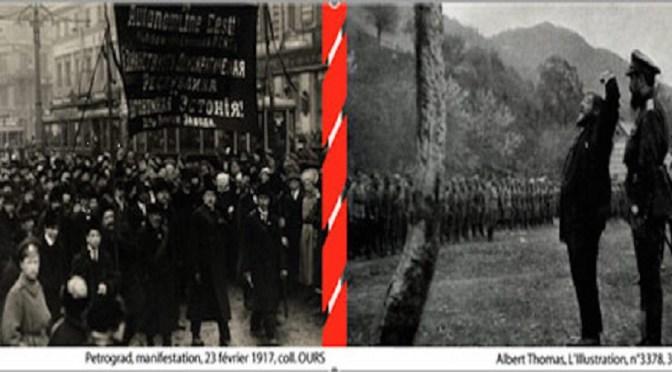JE «1917, les révolutions russes : regards des socialistes», Paris, 12 octobre 2017