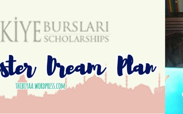 Our Master Dream Plan – Turkiye Burslari  Scholarship