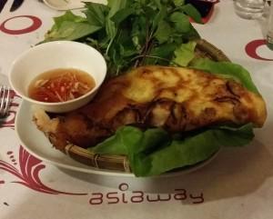 Banh Xeo, crispy vietnamse pancake