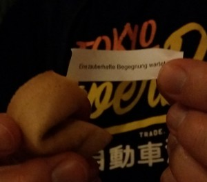 Fortune cookies at Asia Way
