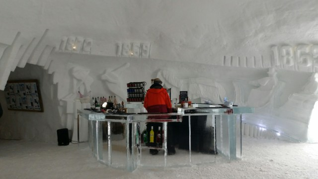 Iglu Dorf Parsenn Davos Klosters