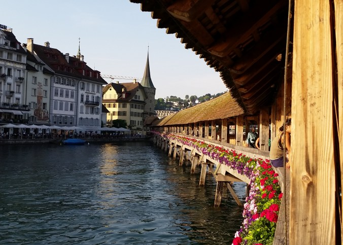 Luzern Switzerland with children