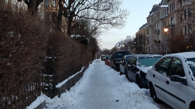 Oslo in the snow