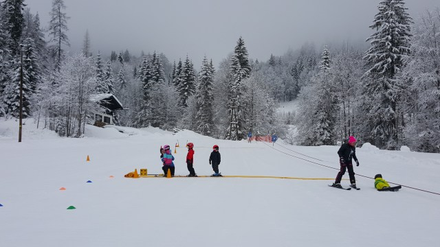 Ski holidays with children