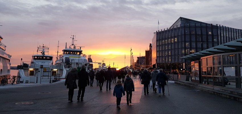 Winter in Oslo: weather, pictures and Christmas spirit