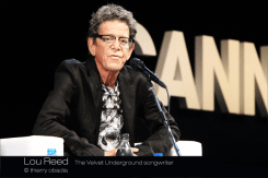 Lou Reed - Cannes Lions 2013