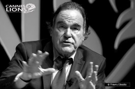 Cannes Lions 2016 // Oliver Stone