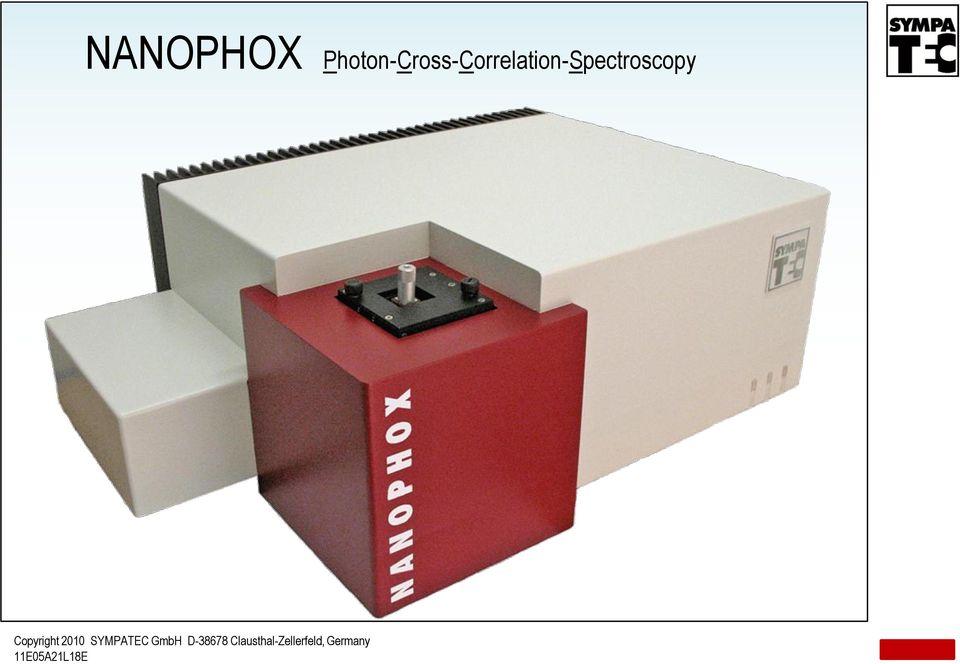 máy đo kích thước hạt nanophox sympatec
