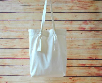 Handmade eco-friendly tote bag!