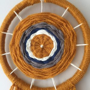 Weaving A Wall Hanging | Thimble End