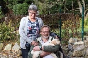 Schröder ist bei Eva und Jürgen in Elmshorn zuhause