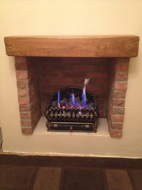 Creating A Fire Place Using Brick Slips THIN BRICK