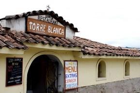 A Peruvian restaurant on top of a hill.