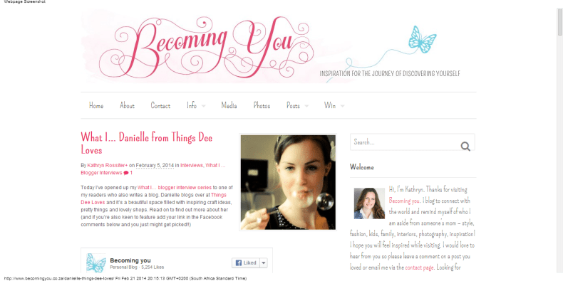 What I... Danielle from Things Dee Loves   Becoming you (1)