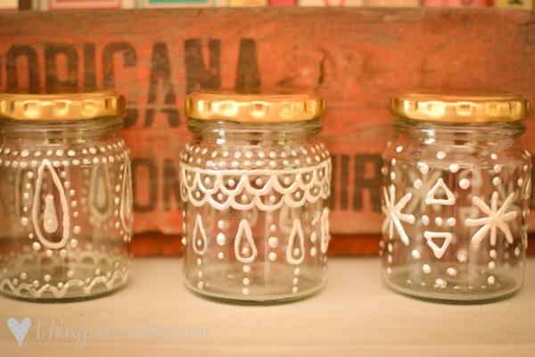 loving decorated jars