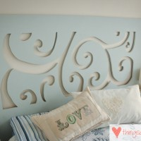 Loving...DIY headboard