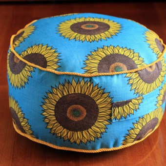The Sunflower Floor Cushion